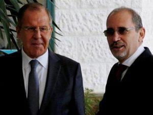 Ruslands udenrigsminister Lavrov advarer om, <br>at USA træner terrorister i Syrien for at opdele landet