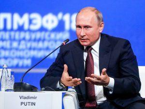Putin gentager sin beredvillighed til at <br>»få en detaljeret dialog« med præsident Trump