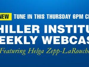 Meddelelse: OBS! <br>Helga Zepp-LaRouche Internationale Webcast <br>onsdag 9. maj, 2018 kl. 18: <br>Med spændingerne, der stiger, <br>hold jer det store billede for øje