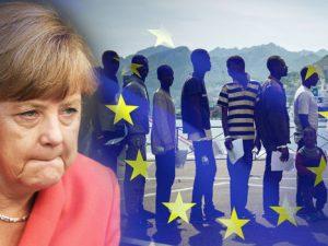 Merkel holder fast ved 'Fæstning Europa'-strategi; <br>fremprovokerer krise hjemme