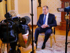 Sergei Lavrov: Historien er i færd med at skabe en ny verdensorden; <br>Vestens ønsker vil ikke stoppe det