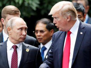 Præsidenterne Putin og Trump skal mødes i Helsinki 16. juli