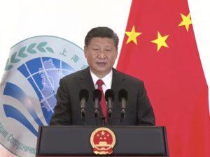 Xi Jinping påkalder ånden fra Konfutse for <br>SCO's skabelse af en 'verden med varig fred'