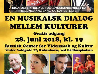 En musikalsk dialog mellem kulturer. <br>Schiller Instituttet i Danmark i samarbejde <br>med andre afholder koncert, 28. juni.