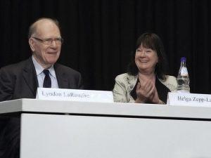 Europa har fået et nyt lederskab: Schiller <br>Instituttets konference opnår alle sine mål
