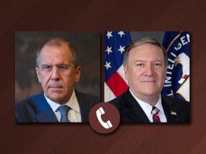 USA's og Ruslands udenrigsministre drøfter de <br>russisk-amerikanske relationer, Syrien og Koreahalvøen