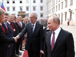 Putins østrigske værter bekræfter, <br>'Rusland er en vigtig del af Europa'