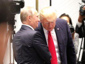 Diplomati mellem Putin og Trump åbner <br>vejen for Putin-Trump-topmøde