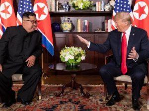 Hele verden responderer til <br>den nye virkelighed, skabt <br>af Trump-Kim-topmødet