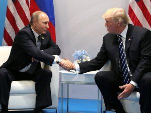 Trump vil mødes med Putin på trods <br>af stormen over immigration, <br>der har til hensigt at stoppe ham