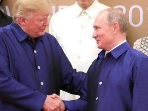 Trump-Putin-topmøde kan ændre verden; <br>fremvoksende fascistiske kræfter ønsker at stoppe det