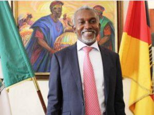 Efter gennembruddet for Transaqua, Nigeria træder i forgrunden: Hans Excellence Yusuf Maitama Tuggar, Nigerias ambassadør i Tyskland.