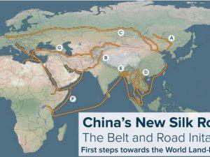 Brændpunkter for krig bliver transformeret af ånden fra Den Nye Silkevej