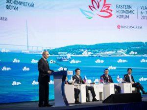 Mere om Putins planer ved 'Eastern Economic Forum'