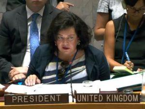 Åbenlyst britisk komplot er nu afsløret i FN og i USA's kongres
