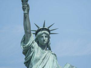 Fra arkivet: Hvordan Frihedsgudinden blev bygget