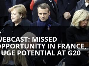 Muligheden forspildt i Frankrig, stort potentiale ved G20.