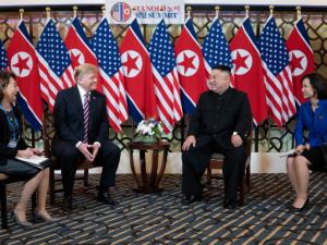 Demokratiske ledere forsøgte at sabotere Trump-Kim-topmødet i Hanoi med en krigspolitik<br> – få dem til at bøde for det