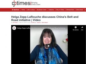 GBTimes.com interview med Helga Zepp-LaRouche om Bælte og Vej-Initiativet og Europa