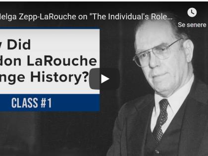 Se foredragsrækken om LaRouches liv: Jordens sidste 50 år og Jordens næste 50 år