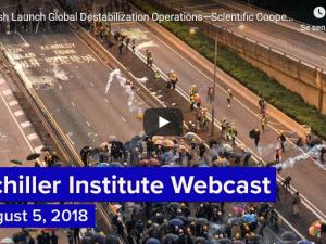 Briterne lancerer globale destabiliseringsoperationer – modtrækket er videnskabeligt samarbejde i rummet<br>Schiller Instituttets ugentlige webcast med Helga Zepp-LaRouche den 5. august 2019