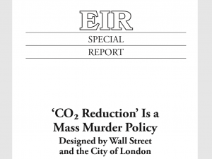 "Specialrapport: ""CO2-reduktion"" er en massemordspolitik<br> designet af Wall Street og City of London"