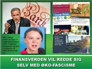 NYHEDSORIENTERING SEPTEMBER 2019: Finansverden vil redde sig selv med øko-fascisme