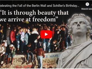 Video og afskrift: Fejring af Berlin murens fald og Friedrich Schillers fødselsdag. <br>Konference i NYC med Helga Zepp-LaRouche som hovedtaler den 11. november 2019 (på engelsk)