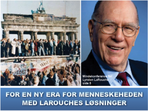 NYHEDSORIENTERING NOVEMBER-DECEMBER 2019: <br>For en ny era for menneskeheden <br>med LaRouches løsninger