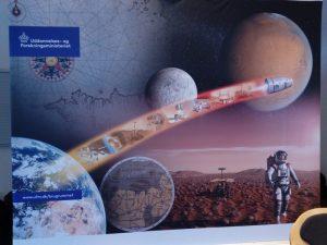 Samarbejde for fred mellem USA-Rusland-Kina-Indien<br> foreslået af Schiller Instituttet i Danmark på regeringens rumkonference