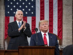 Trumps 'Tale om Nationens Tilstand' og Senatets frikendelse skaber et optimistisk øjeblik,<br> en åbning for LaRouches politik. <br>Schiller Instituttets ugentlige webcast med Helga Zepp-LaRouche den 5. februar 2020