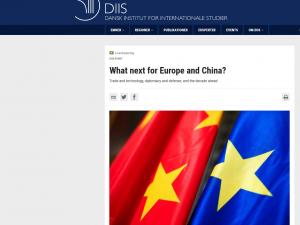 Schiller Instituttet intervenerer med opfordring til topmøde mellem Trump, Putin og Xi Jinping <br>på DIIS seminar om Kina og Europa