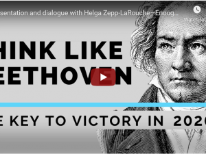 Tænk som Beethoven – Video med Helga Zepp-LaRouche den 1. februar 2020