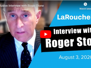 LaRouchePAC interview med Roger Stone, inkl. om LaRouche-sagen