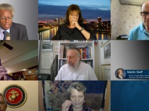 Schiller Instituttets internationale videokonference den 5.-6 september med titlen:  <br> Drift mod krig og Armageddon – eller et nyt paradigme mellem suveræne nationalstater  <br> forenet ved menneskehedens fælles mål