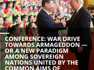 Konferencerapport: Uddrag fra EIR Strategic Alert, viet til Schiller Instituttets <br>online internationale konference den 5.-6. september