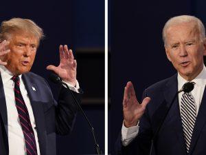 Trump versus Biden: Politiske forskelle
