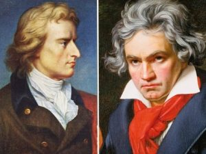 Schiller Instituttets internationale hjemmeside fejrer <br> Beethovens 250-års fødselsdag med en Beethoven-serie