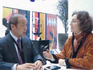 Fusionskraft og Kina. Interview med Dr. Luo Delong, direktør for ITER Kina <br>foretog af Michelle Rasmussen i København.