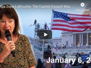 Webcast den 9. januar 2020 med Helga Zepp-LaRouche, m.fl.: om angrebet på kongresbygningen:<br> Hvordan skal man tænke på menneskeheden i en krisetid.