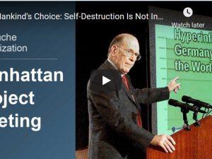 Video: Menneskehedens valg: Selvdestruktion er ikke uundgåelig. <br>Inkl. rapport om Syrien, Yemen og Egypten