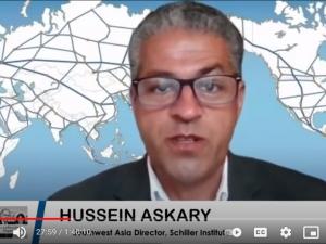 Retfærdighed for landene i Sydvestasien (Mellemøsten). Tale af Hussein Askary, <br>Schiller Instituttets Sydvestasien koordinator den 22. maj 2021