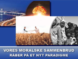 NYHEDSORIENTERING MAJ 2021: Vores moralske sammenbrud råber på et nyt paradigme
