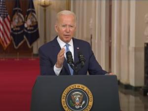 Det amerikanske præsidentskabs stormfulde beslutning, inkl. uddrag fra præsident Bidens tale