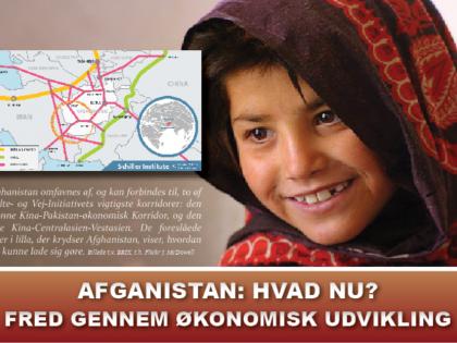POLITISK ORIENTERING AUGUST 2021: <BR>Afghanistan: Hvad nu?: Fred gennem økonomisk udvikling